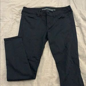 American Eagle Navy Jeggings